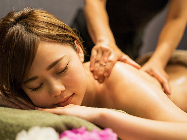 What massage services are offered at the Spa?